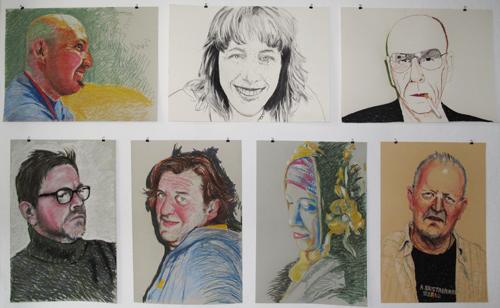 gesichtsbuch portraits